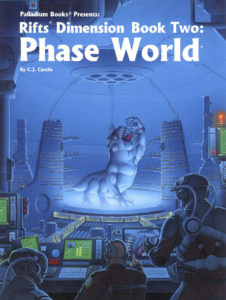 Cover of the first Phase World book