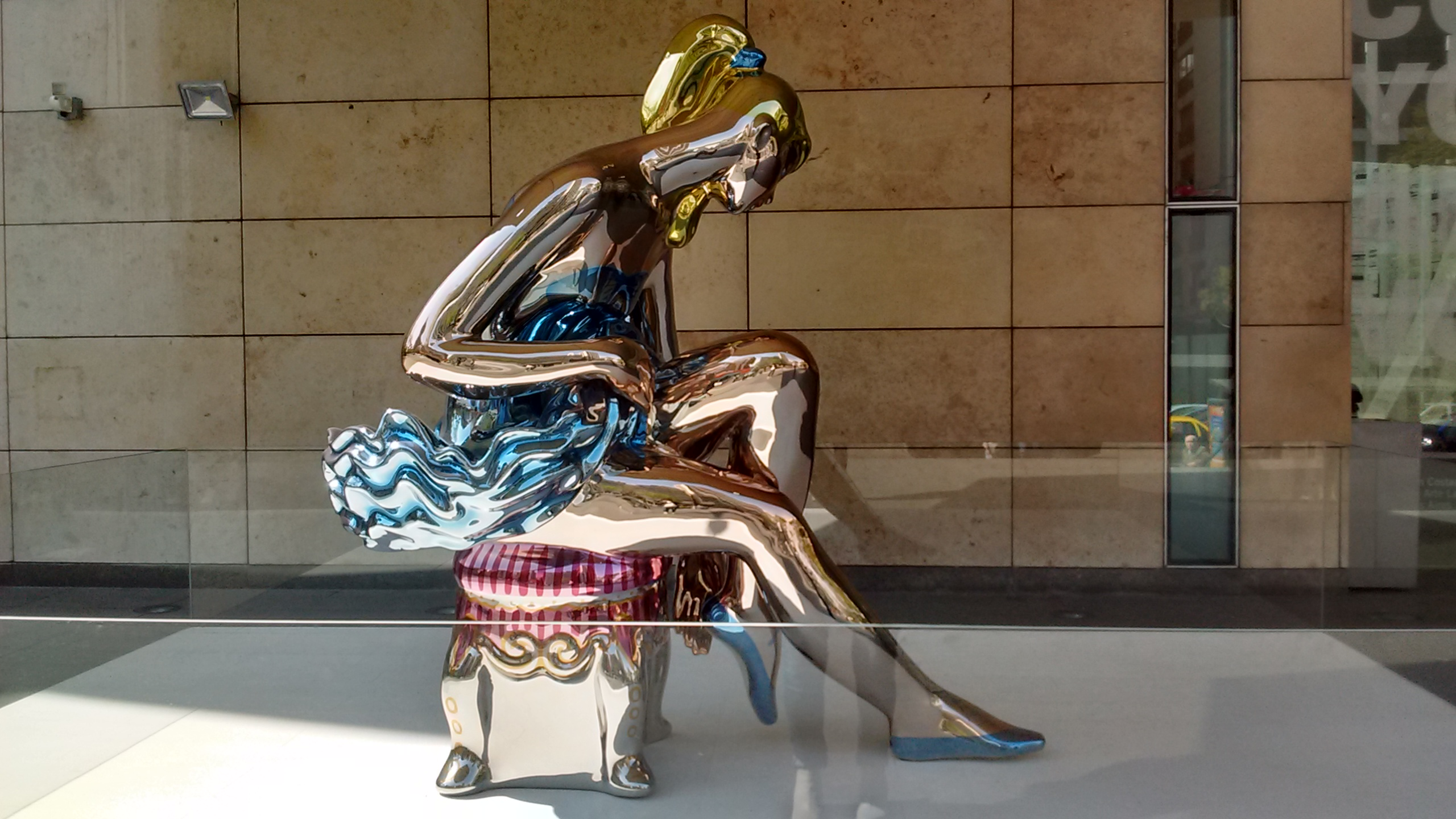 Ballerina by Jeff Koons